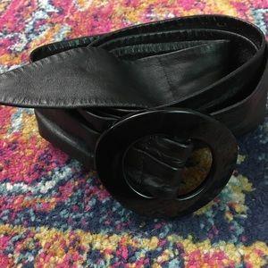 Accessories - Supple flexible black belt